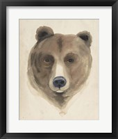 Watercolor Animal Study VI Framed Print