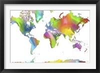 Framed World Map 2