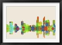 Adelaide SA Skyline 1 Framed Print