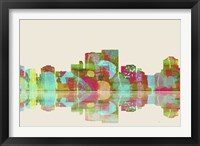 Darwin NT Skyline 1 Framed Print
