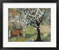 Framed Elephant Under A Tree