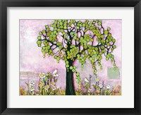 Framed Pink Paradise Tree