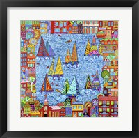 Framed Regatta Town