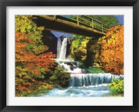 Framed Waterfall C