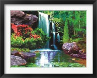 Framed Waterfall D