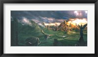 Framed Castle Highlands