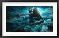Framed Dangerous Seas