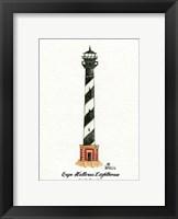 Framed Cape Hatteras Lighthouse, NC