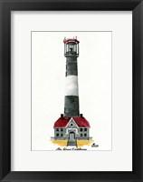 Framed Fire Island Lighthouse, NY