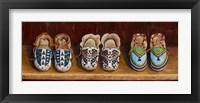 Framed Family Moccasins