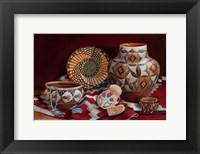Framed Native American Art