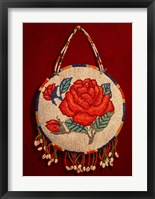 Framed Red Roses
