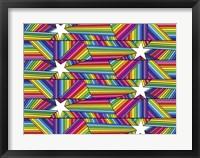 Framed Stars Stripes B