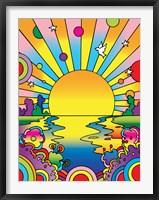 Cosmic Sun Framed Print