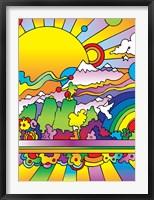 Framed Sun 6