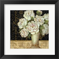 Antique Floral Still Life II Framed Print