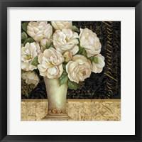 Antique Floral Still Life I Framed Print