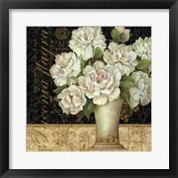 Antique Floral Still Life II Framed Print