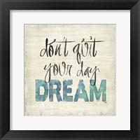 Love and Daydream II Framed Print
