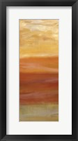 Horizons Spice Panel II Framed Print