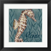 Nautical Critters I Framed Print