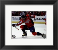 Framed Alex Ovechkin Scores his 50th Goal March 31, 2015