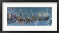 Framed Christmas Travelers 1
