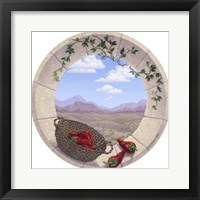 Framed Chilis in the Round