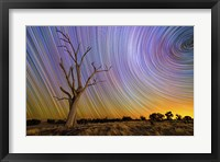 Framed Hilltop Startrail