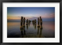 Framed Lost Pier