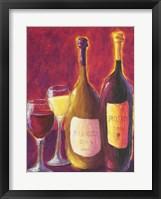 Framed Bianco e Rosso