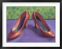 Framed Red Shoes