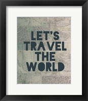Framed Travel the World