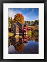 Framed Old Grist Mill