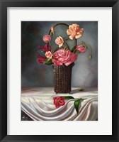 Framed Flower Still Life
