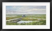 Framed Last Mountain Lake Bird Sanctuary