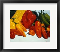Framed All Kinds of Peppers