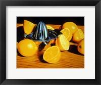 Framed Luscious Lemons