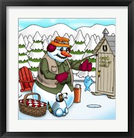 Framed Ice Fishing
