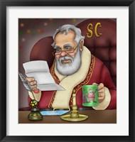 Framed Santa's Letters
