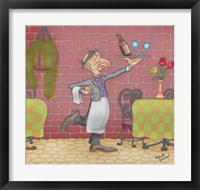 Framed Wine Waiter