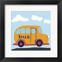 Bus Baba Framed Print