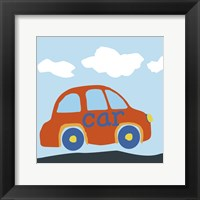 Car Baba Framed Print