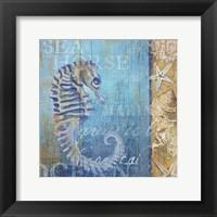 Framed Sea Horse and Sea
