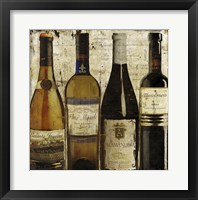 Wine Samples of Europe II Framed Print
