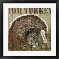 Framed Open Season Turkey