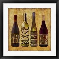 The Wine Up 1 Framed Print