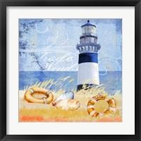 Framed Trade Winds Lighthouse