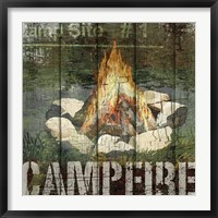 Framed Open Season Campfire