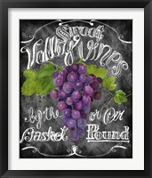 Sweet Valley Vines Framed Print